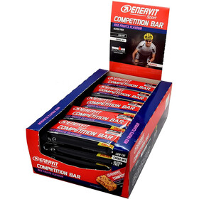 Enervit Sport Competition Bar Caja 25x30g, redfruit